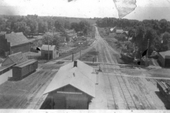 Taken from the Union Pacific Railroad Water Tower ca. 1910